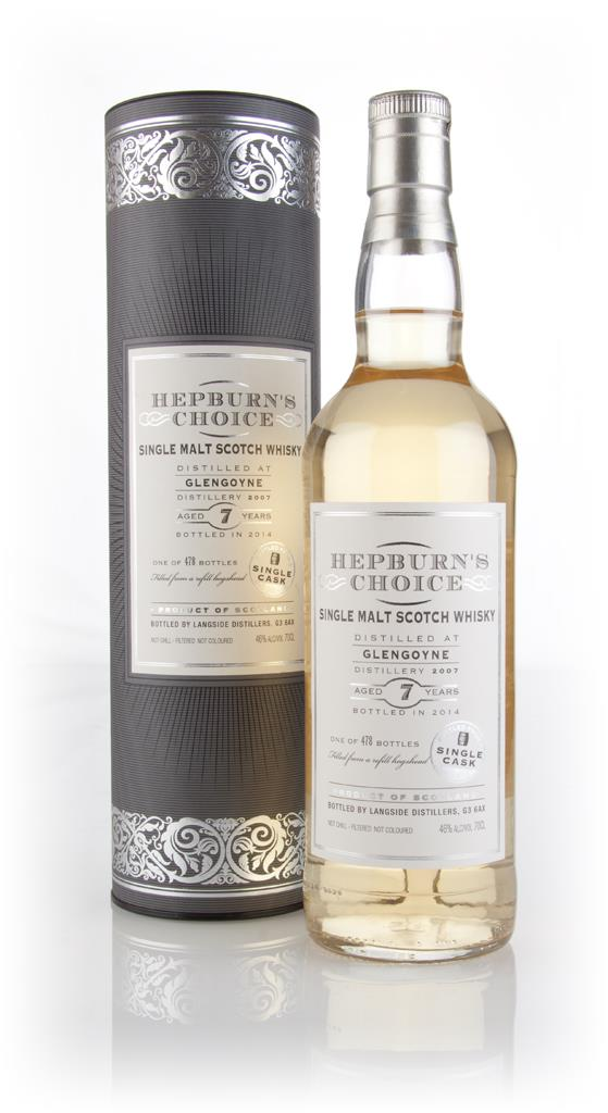 Glengoyne 7 Year Old 2007 (bottled 2014) - Hepburn's Choice (Langside) Single Malt Whisky