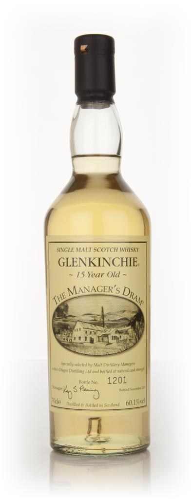 Glenkinchie - The Managers Dram Single Malt Whisky
