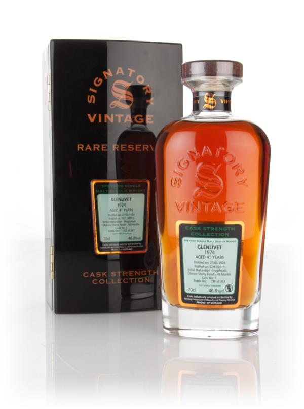 Glenlivet 41 Year Old 1974 (cask 1) - Cask Strength Collection Rare Re Single Malt Whisky 3cl Sample
