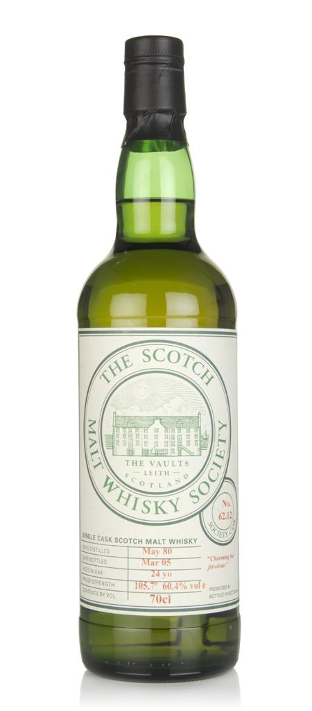 SMWS No. 62.12 24 Year Old 1980 Single Malt Whisky