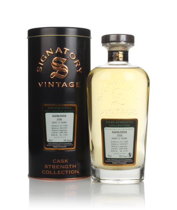 Glenlossie 12 Year Old 2006 (cask 3289 & 3290) - Cask Strength Collect Single Malt Whisky