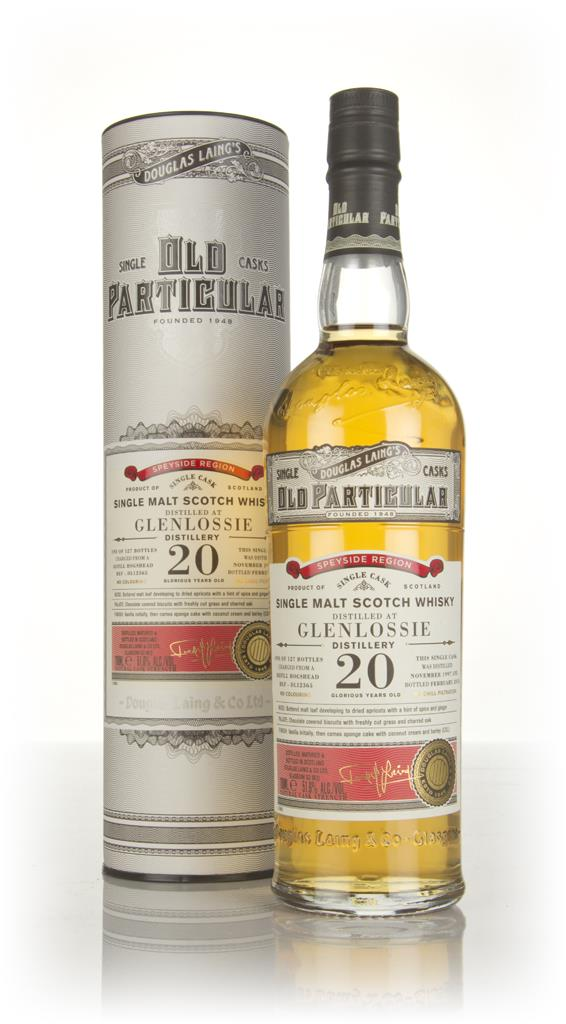 Glenlossie 20 Year Old 1997 (cask 12365) - Old Particular (Douglas Lai Single Malt Whisky