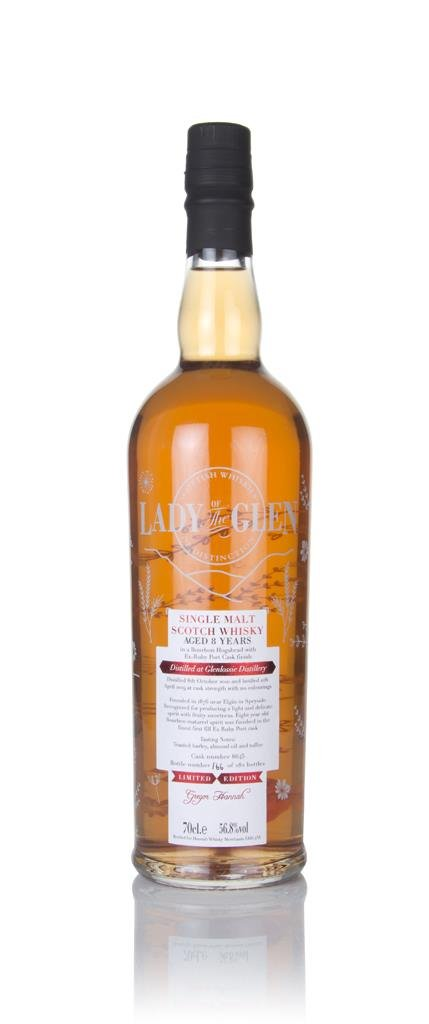 Glenlossie 8 Year Old 2010 (cask 8645) - Lady of the Glen (Hannah Whis Single Malt Whisky