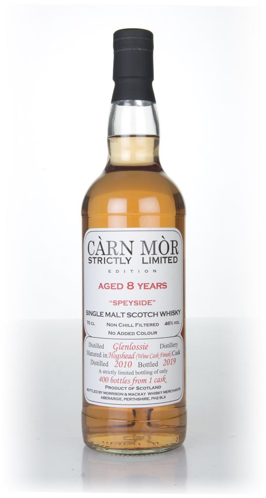 Glenlossie 8 Year Old 2010 - Strictly Limited (Carn Mor) Single Malt Whisky