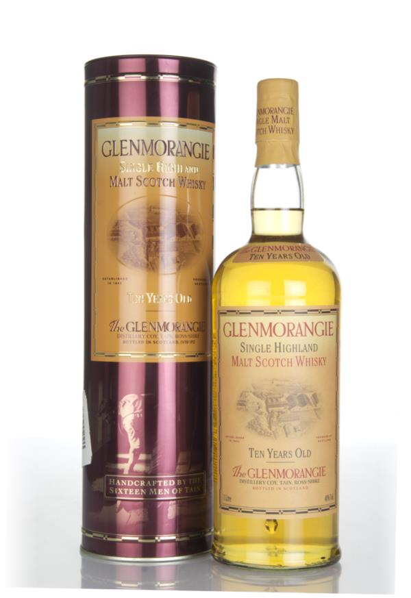 Glenmorangie 10 Year Old (1L) (Old Bottling) (with Presentation Tin) Single Malt Whisky