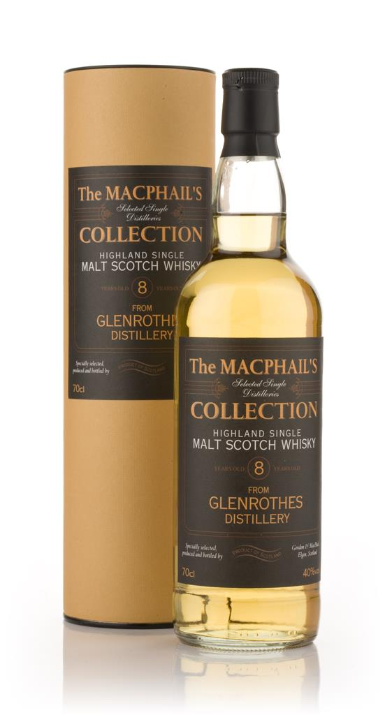 Glenrothes 8 Year Old - The MacPhail's Collection (Gordon & MacPhail) Single Malt Whisky
