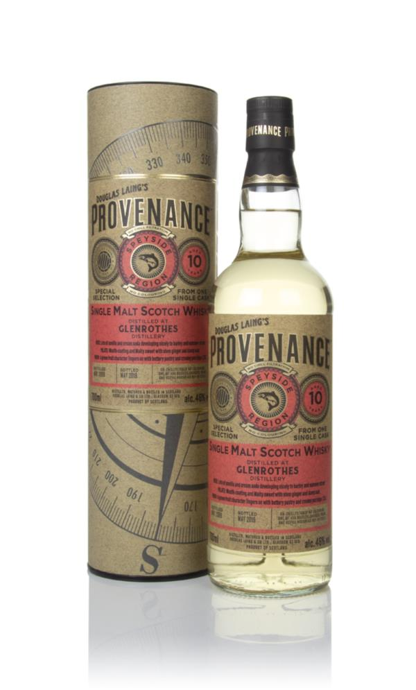 Glenrothes 10 Year Old 2009 (cask 13332) - Provenance (Douglas Laing) Single Malt Whisky