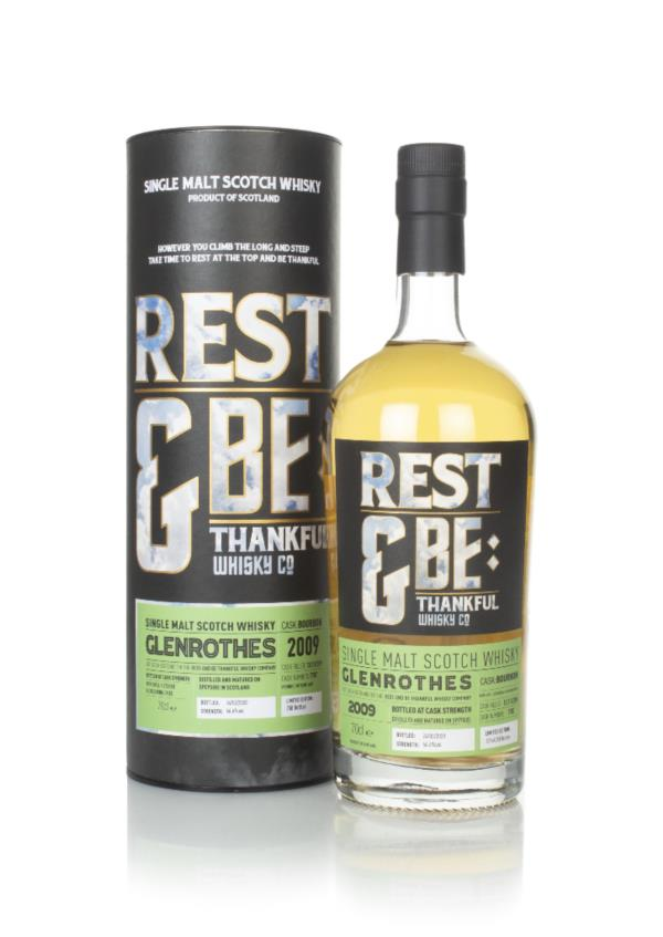 Glenrothes 10 Year Old 2009 (cask 7707) - Rest & Be Thankful Single Malt Whisky