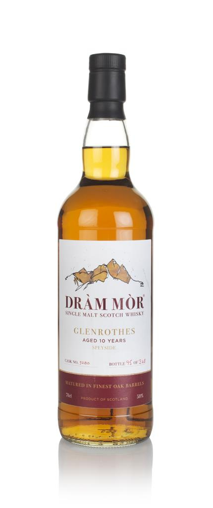 Glenrothes 10 Year Old (cask 5280) - Dram Mor Single Malt Whisky
