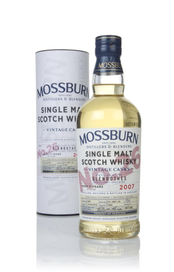 Glenrothes 11 Year Old 2007 - Vintage Casks (Mossburn) Single Malt Whisky