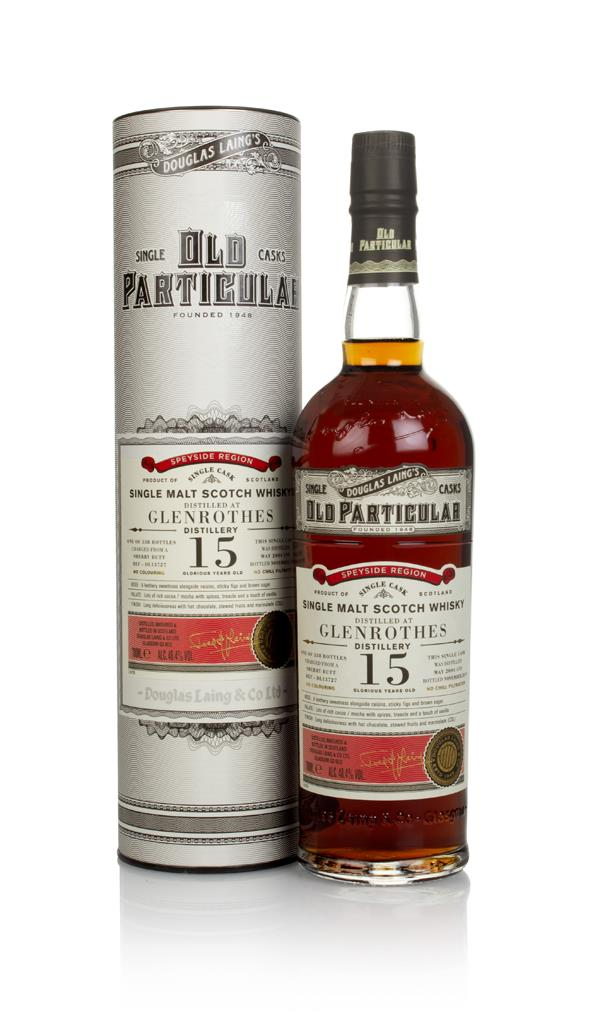 Glenrothes 15 Year Old (cask 13727) - Old Particular (Douglas Laing) Single Malt Whisky