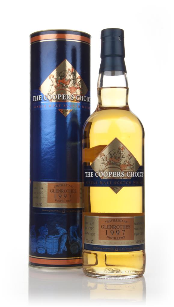 Glenrothes 16 Year Old 1997 - The Coopers Choice (The Vintage Malt Whi Single Malt Whisky