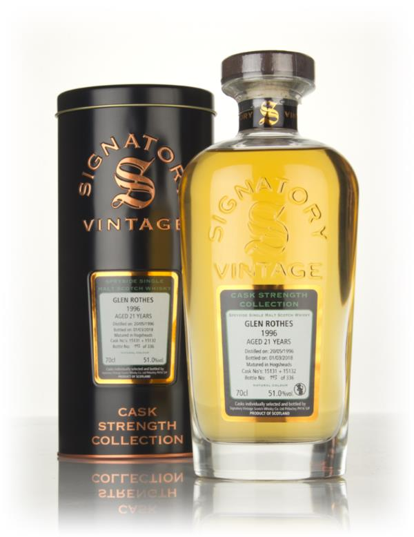 Glenrothes 21 Year Old 1996 (cask 15131 & 15132) - Cask Strength Colle Single Malt Whisky
