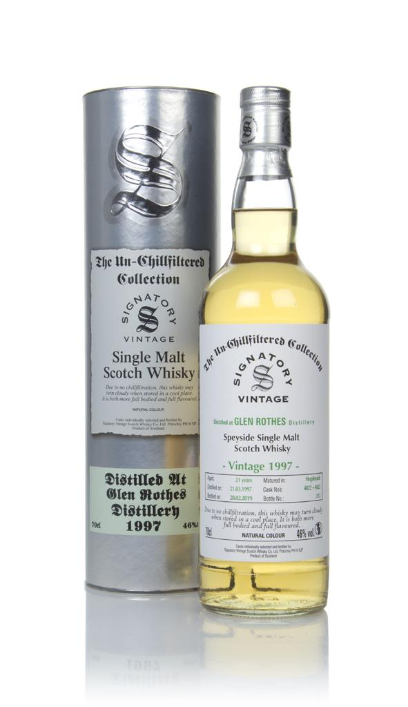 Glenrothes 21 Year Old 1997 (casks 4822 & 4823) - Un-Chillfiltered Col Single Malt Whisky