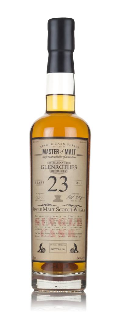 Glenrothes 23 Year Old 1993 - Single Cask (Master of Malt) 3cl Sample Single Malt Whisky