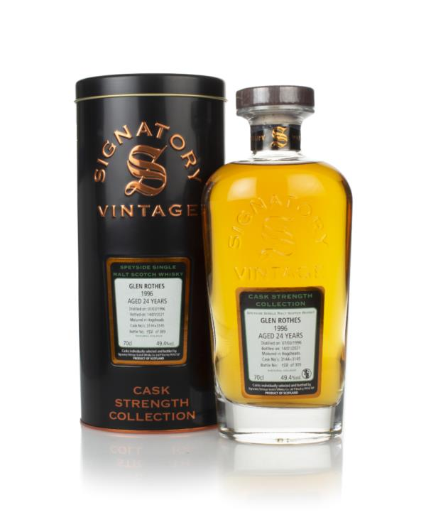 Glenrothes 24 Year Old 1996 (cask 3144 & 3145) - Cask Strength Collect Single Malt Whisky