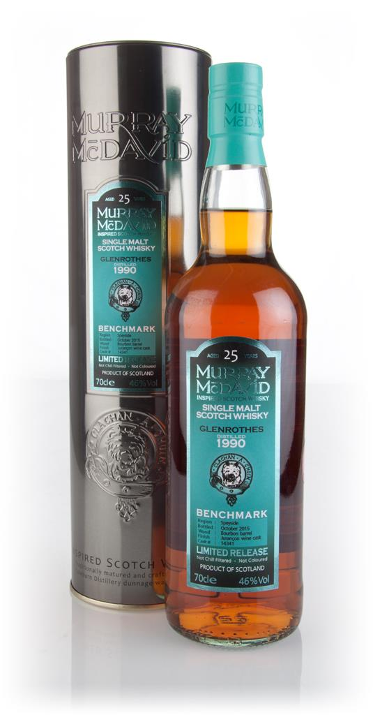 Glenrothes 25 Year Old 1990 (cask 14341) - Benchmark (Murray McDavid) Single Malt Whisky 3cl Sample