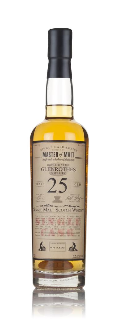 Glenrothes 25 Year Old 1991 - Single Cask (Master of Malt) 3cl Sample Single Malt Whisky