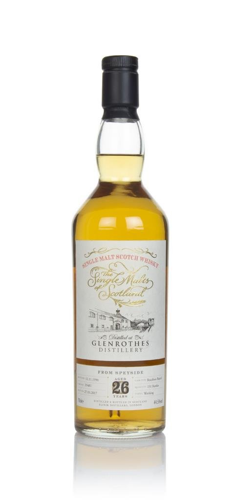 Glenrothes 26 Year Old 1990 (cask 35481) - The Single Malts of Scotlan Single Malt Whisky