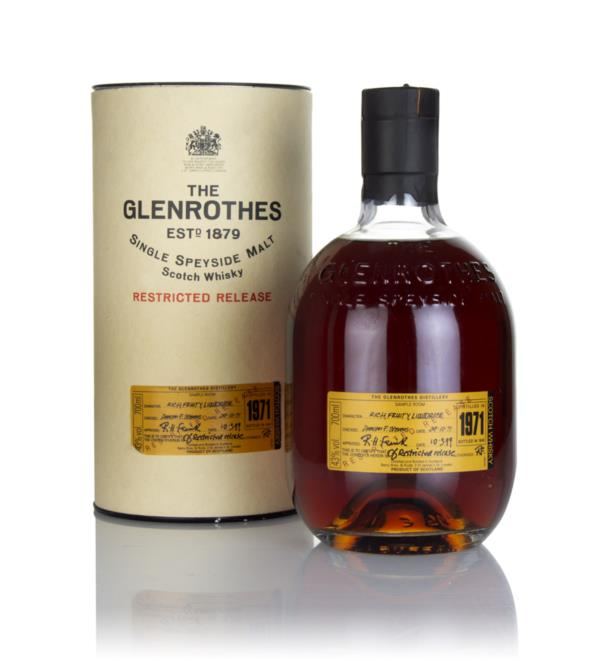 Glenrothes 27 Year Old 1971 - Restricted Release Single Malt Whisky