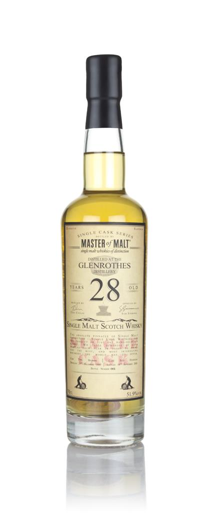 Glenrothes 28 Year Old 1989 - Single Cask (Master of Malt) Single Malt Whisky