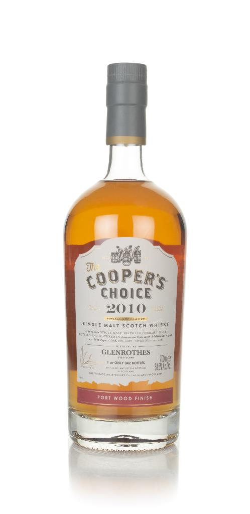 Glenrothes 9 Year Old 2010 (cask 6039) - The Cooper's Choice (The Vint Single Malt Whisky