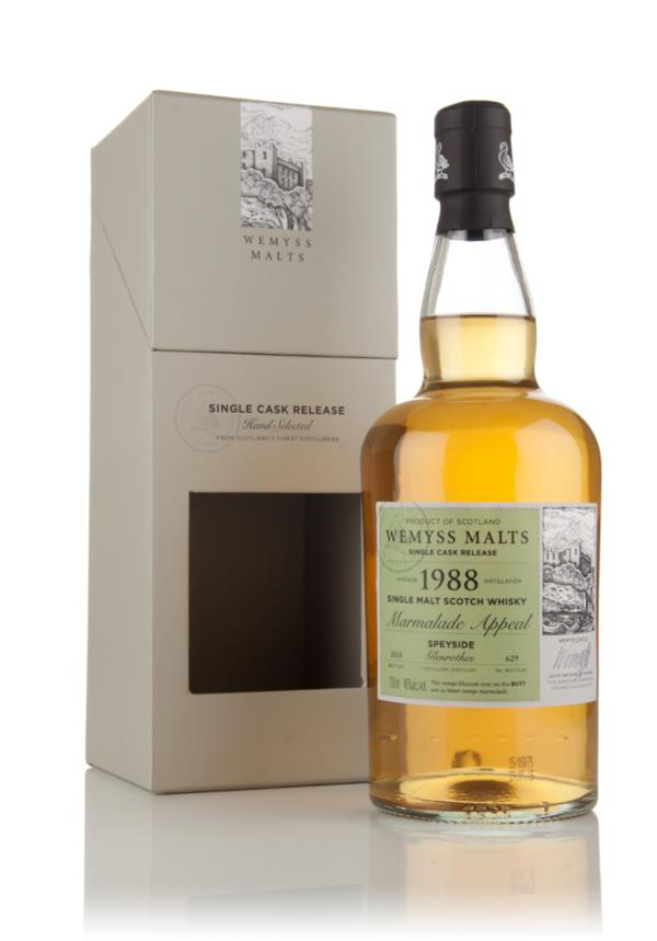 Marmalade Appeal 1988 (bottled 2015) - Wemyss Malts (Glenrothes) 3cl S Single Malt Whisky 3cl Sample