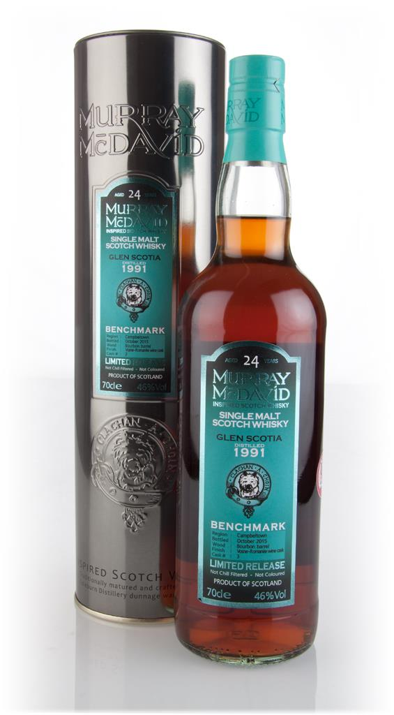 Glen Scotia 24 Year Old 1991 (cask 3) - Benchmark (Murray McDavid) 3cl Single Malt Whisky 3cl Sample