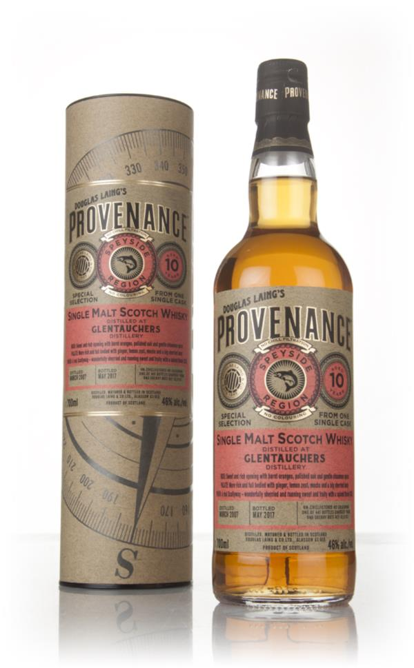 Glentauchers 10 Year Old 2007 (cask 11763) - Provenance (Douglas Laing Single Malt Whisky