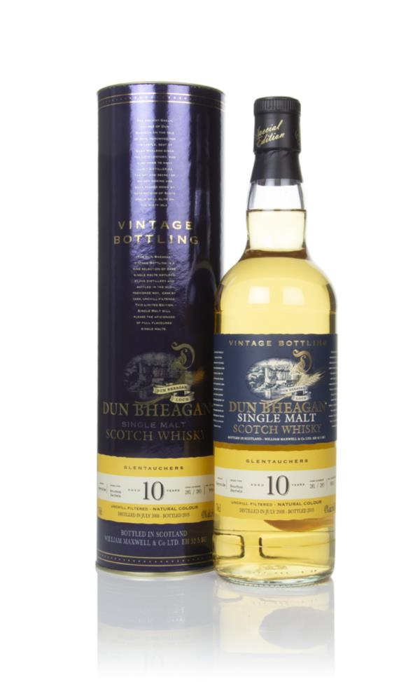 Glentauchers 10 Year Old 2008 (casks 281 & 283) - Dun Bheagan (Ian Mac Single Malt Whisky