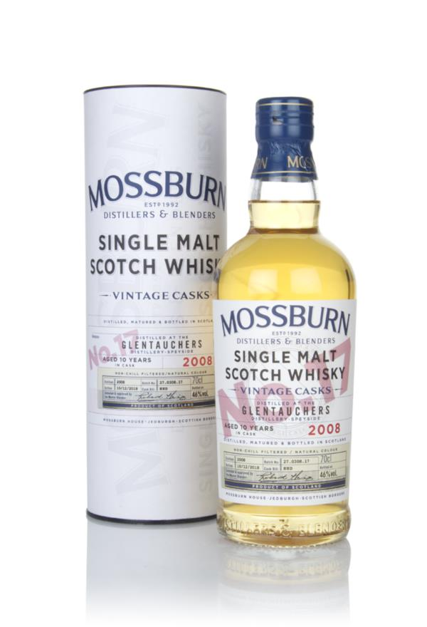 Glentauchers 10 Year Old 2008 - Vintage Casks (Mossburn) Single Malt Whisky