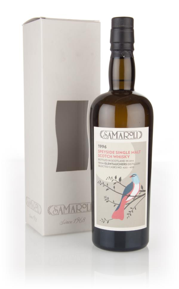 Glentauchers 1996 (bottled 2014) (cask 4232 + 4233) - Samaroli 3cl Sam Single Malt Whisky 3cl Sample