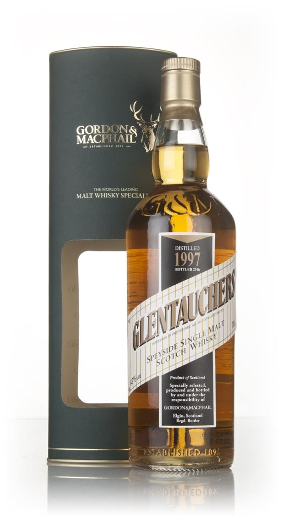 Glentauchers 1997 (bottled 2016) (Gordon & MacPhail) Single Malt Whisky