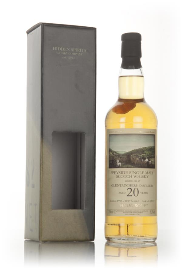 Glentauchers 20 Year Old 1996 (cask GT617) - Hidden Spirits Single Malt Whisky