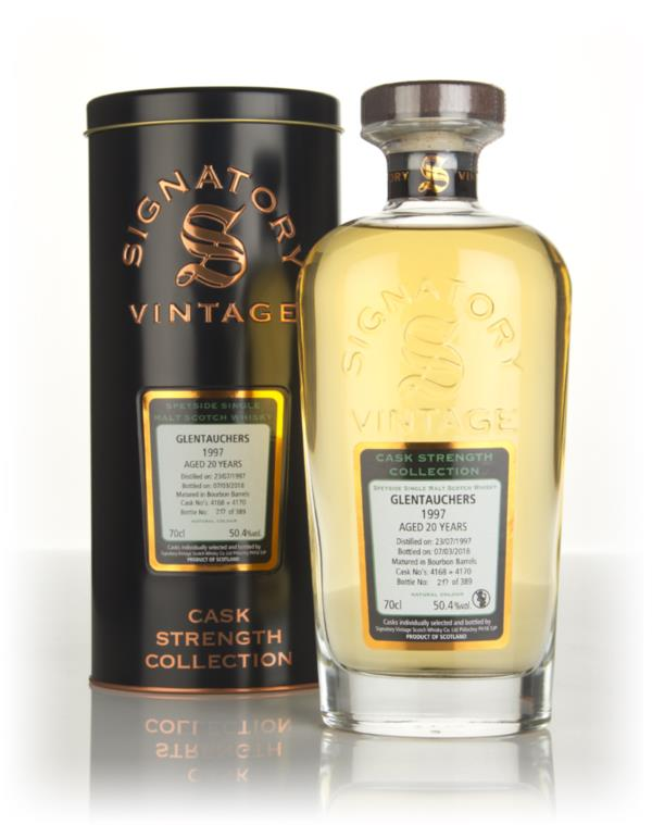 Glentauchers 20 Year Old 1997 (cask 4168 & 4170) - Cask Strength Colle Single Malt Whisky