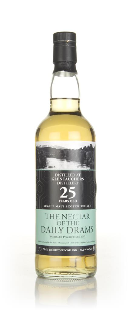 Glentauchers 25 Year Old 1992 - The  Nectar of the Daily Drams Single Malt Whisky