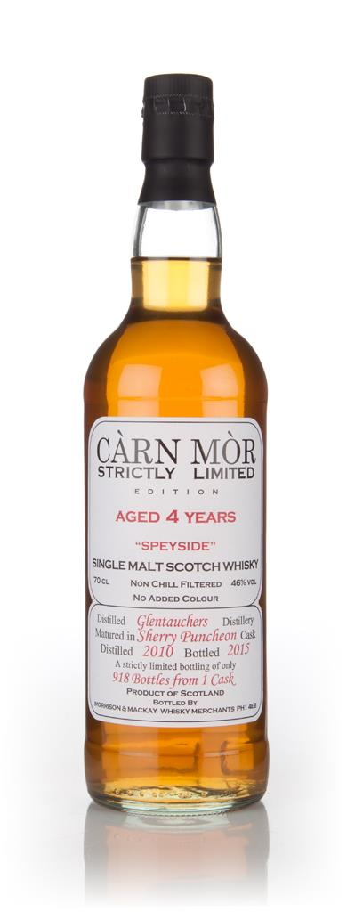 Glentauchers 4 Year Old 2010 - Strictly Limited (Carn Mor) Single Malt Whisky