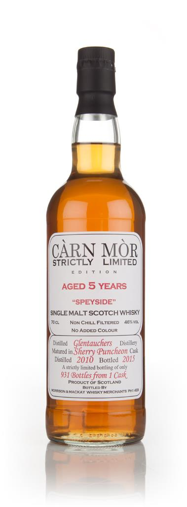 Glentauchers 5 Year Old 2010 - Strictly Limited (Carn Mor) Single Malt Whisky