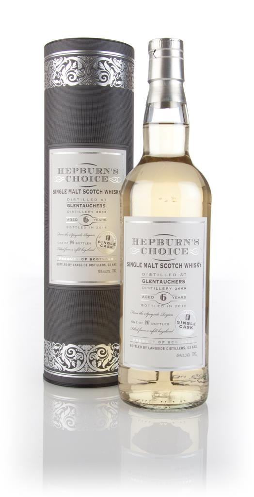 Glentauchers 6 Year Old 2009 - Hepburn's Choice (Langside) Single Malt Whisky
