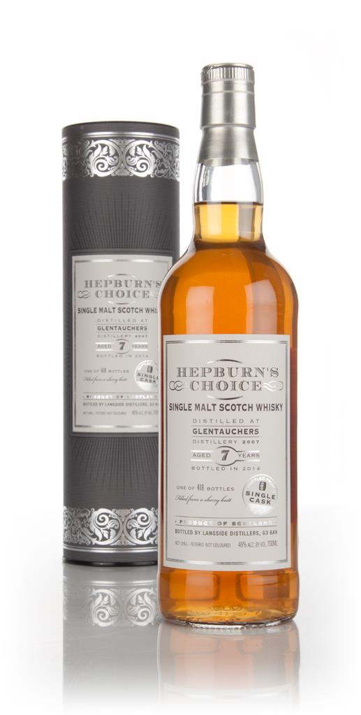 Glentauchers 7 Year Old 2007 - Hepburn's Choice (Langside) Single Malt Whisky