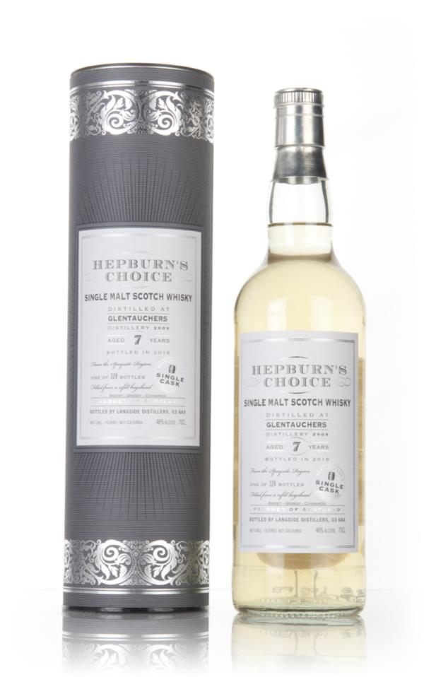 Glentauchers 7 Year Old 2009 - Hepburns Choice (Langside) Single Malt Whisky