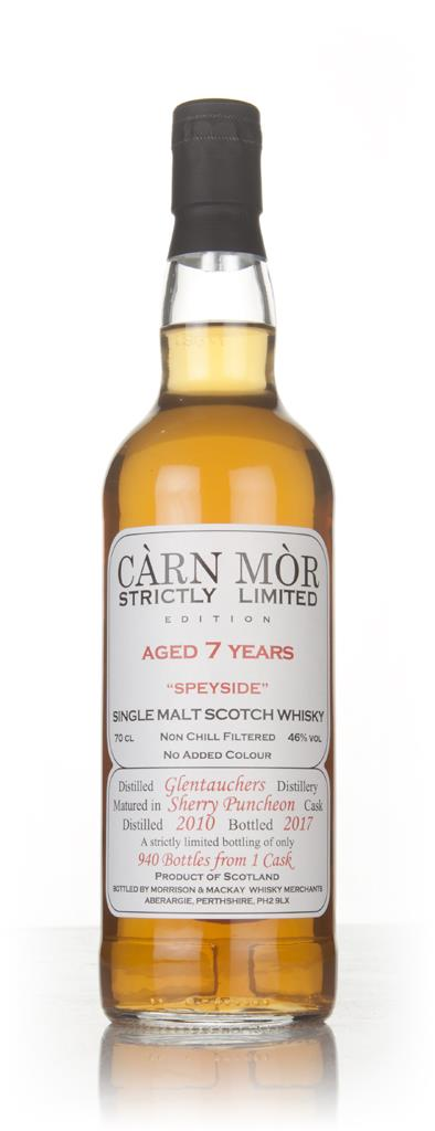 Glentauchers 7 Year Old 2010 - Strictly Limited (Carn Mor) Single Malt Whisky