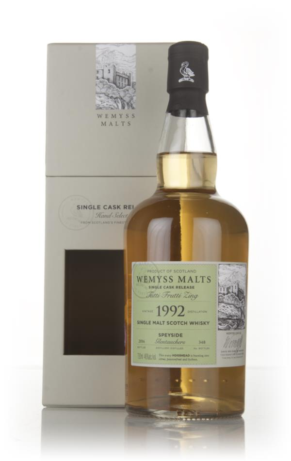 Tutti Frutti Zing 1992 (bottled 2016) - Wemyss Malts (Glentauchers) Single Malt Whisky