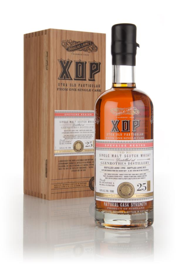 Glenrothes 25 Year Old 1990 (cask 10784) - Xtra Old Particular (Dougla Single Malt Whisky 3cl Sample