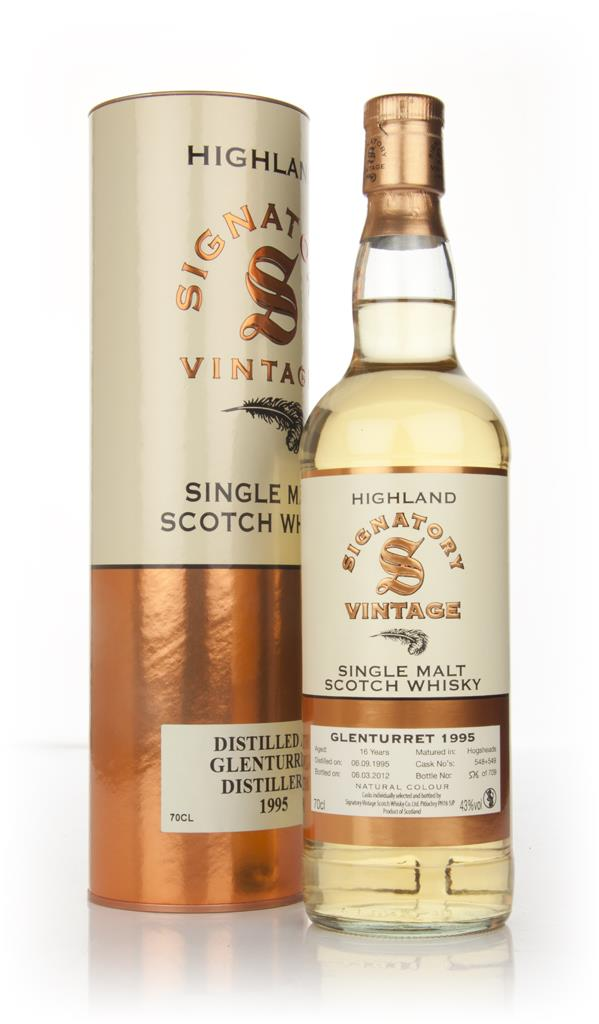 Glenturret 16 Year Old 1995 (Signatory) Single Malt Whisky