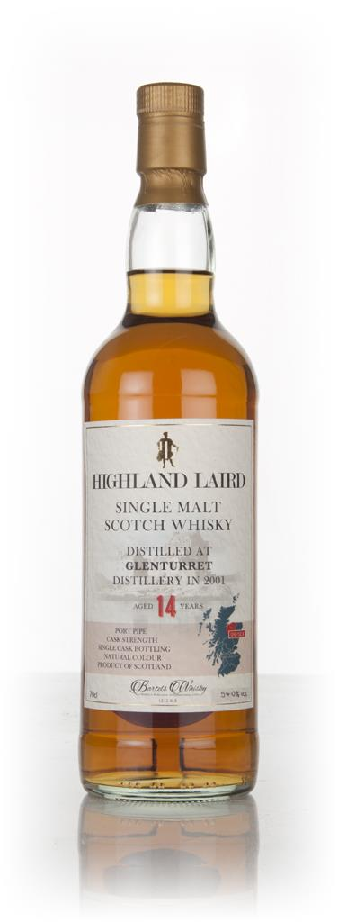 Glenturret 14 Year Old 2001 - Highland Laird (Bartels Whisky) Single Malt Whisky