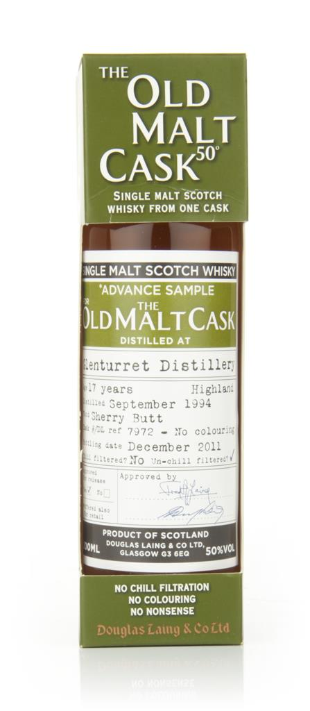 Glenturret 17 Year Old 1994 - Old Malt Cask  20cl (Douglas Laing) Single Malt Whisky