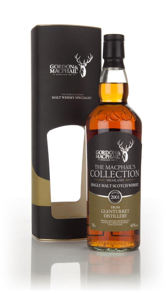 Glenturret 2001 - The MacPhail's Collection (Gordon & MacPhail) Single Malt Whisky
