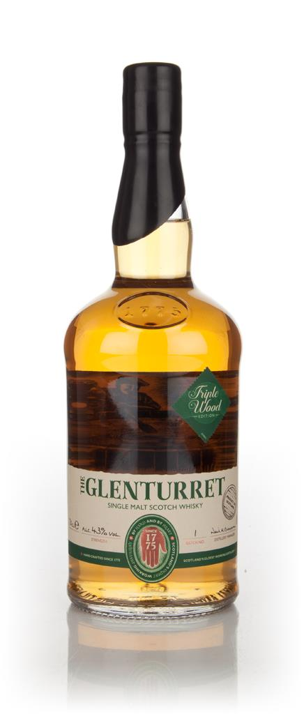 The Glenturret Triple Wood Single Malt Whisky