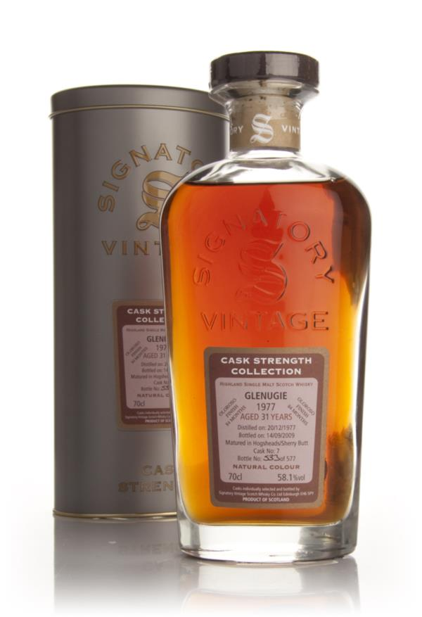 Glenugie 31 Year Old 1977 - Cask Strength Collection (Signatory) Single Malt Whisky